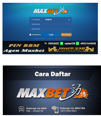lupa password judi maxbet